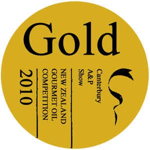 Olive Oil gold award