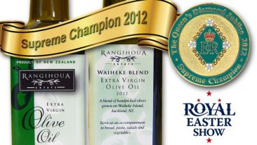 Waiheke olive oil supreme champion