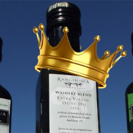 Rangihoua Estate's 'Royal Oil' – fit for a king?