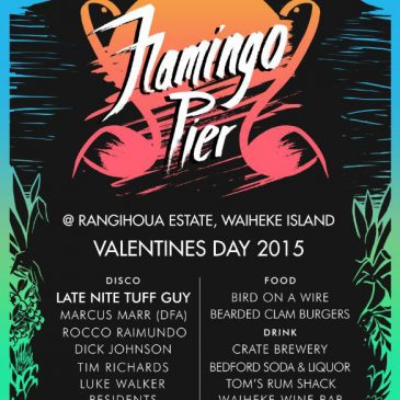 Flamingo Pier – Valentines Day Disco @ Rangihoua Estate