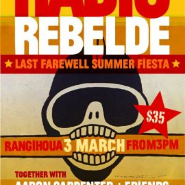 Radio Rebelde play at Rangihoua – 3rd March 2018