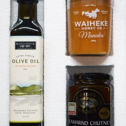 honey chutney and oil